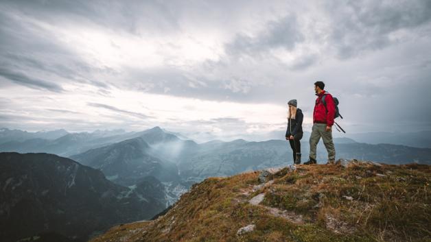 Auf zu luftigen Berggipfeln