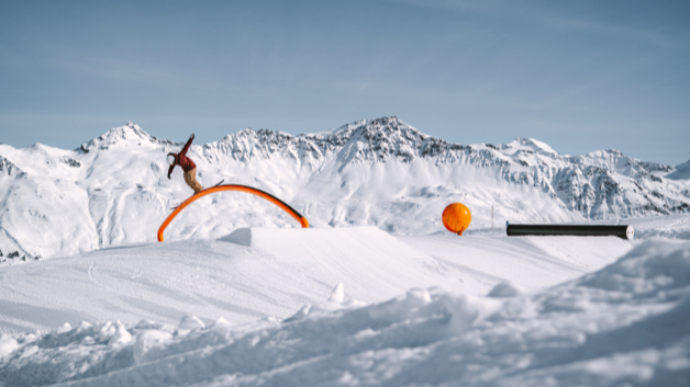Snowpark Arosa Lenzerheide – This park is for you!