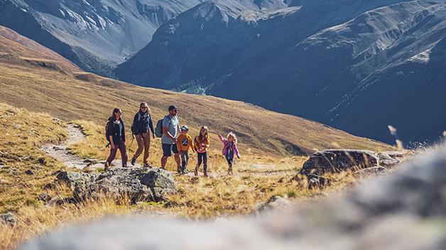 Alpine Wanderrouten in Davos