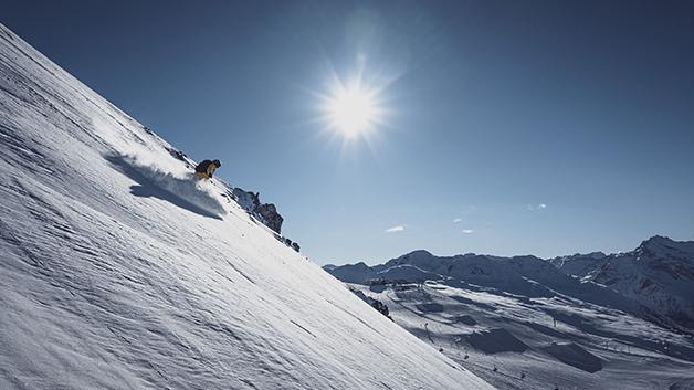 Freeride Eldorado der Alpen